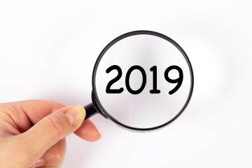 Rekapitulace roku 2019